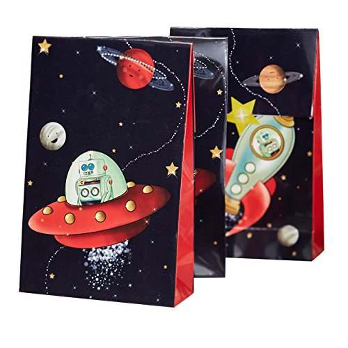 outer space treat bags - 9