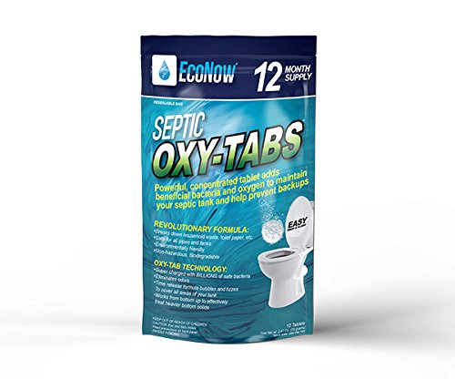 Septic Oxy-Tabs - Powerful Tablet maintains and treats a septic tank system so it operates properly. Helps prevent back-ups and eliminates odors (12) by EcoNow Solutions (Image #6)
