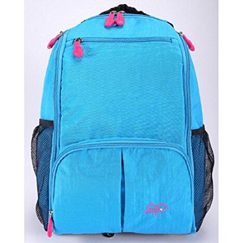 BestFyou® 2014 New Style Korean Version Large Capacity Diaper Bag (blue)