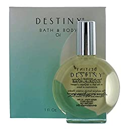Destiny By Marilyn Miglin For Women. Bath & Body Oil 1.0 Oz / 30 Ml
