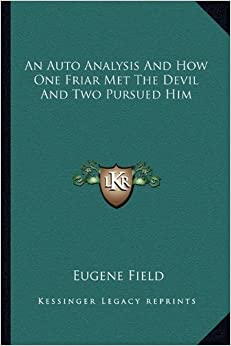 Book An Auto Analysis and How One Friar Met the Devil and Two Pursued Him