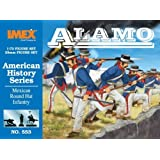 IMEX 553 Mexican Round Hat Infantry 1-72 Imex