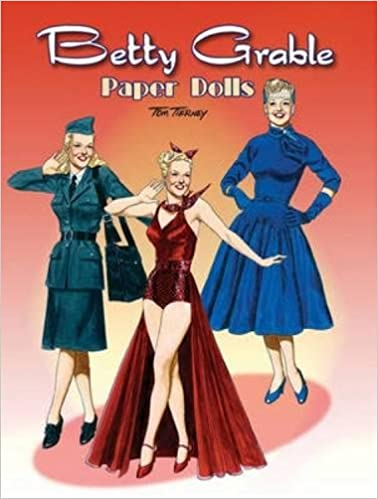 9cee6bccf9f Betty Grable Paper Dolls (Dover Celebrity Paper Dolls)  Tom Tierney   9780486472485  Amazon.com  Books
