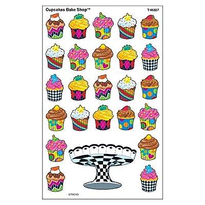 TREND enterprises, Inc. Cupcakes The Bake Shop superShapes Stickers-Large, 200 ct: Toys & Games