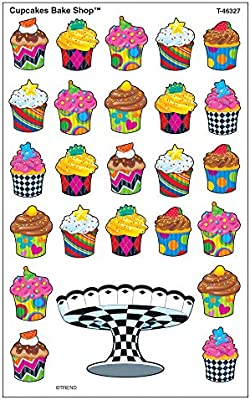 Cupcake The Bake Shop Note Pad-Shaped Trend Enterprises Inc 50 Sheets