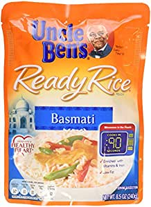 Amazon.com : Uncle Ben's, Ready Rice, Basmati, 8.5 oz
