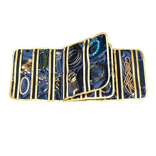 Zippered Jewelry Travel Case - 9