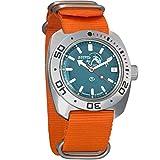 Vostok Amphibian Scuba Dude Automatic Mens WristWatch Self-winding Military Diver Amphibia Ministry Case Wrist Watch...