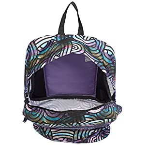 JanSport Superbreak Backpack- Discontinued Colors (Multi Super Swirls)