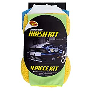 Detailer's Choice 3-540 Microfiber Wash Kit - 4-Piece
