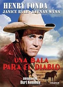 Una Bala Para El Diablo [DVD]