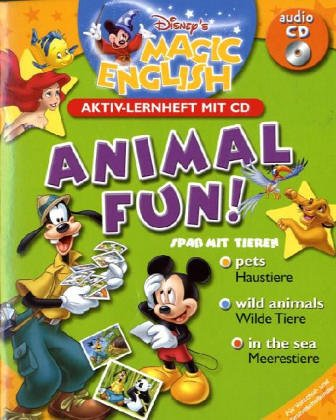 Disney's Magic English: Animal Fun! Aktiv-Lernheft mit CD