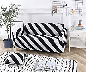 Zhiyuan Stretch Sofa Couch Cover Furniture Slipcover,Four Seat