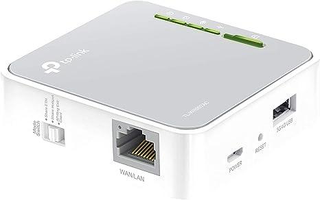 TP-Link TL-WR902AC Nano Router AC750 WiFi portátil, 2.4 / 5 GHz, 1 puerto LAN / WAN, 1 puerto USB 2.0, compatible con módem USB 3G /4G, modos de ...