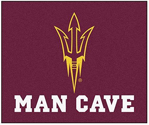 Arizona State Tailgater Rug (Fan Mats 20653 Arizona State University Sun Devils 5' x 6' Man Cave Tailgater Mat)