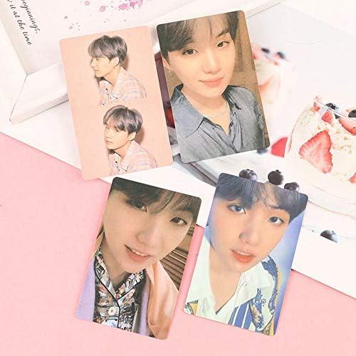GOTH Perhk 4pcs/Set Kpop BTS Bangtan Boys Map of The Soul: Persona Papier Foto Lomo Karten Jimin V Photocard Geschenk für A. R. M. Y.