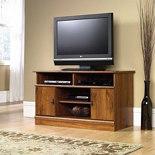 sauder-harvest-mill-panel-tv-stand-abbey-oak-finish