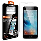 iPhone 6s Screen Protector, Spigen® [3D Touch Compatible - Tempered Glass] Easy-Install Wings [Life Warranty] Rounded Edge with Chip Resistant for Apple iPhone 6 / iPhone 6s - Glas.tR SLIM (SGP11588)