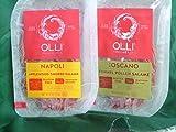 Olli Salami Pre-Sliced 2-4 ounce Packs-Toscano & Napoli Salami