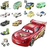 Mattel - W1939 Protagonisti Cars 2 Disney Pixar