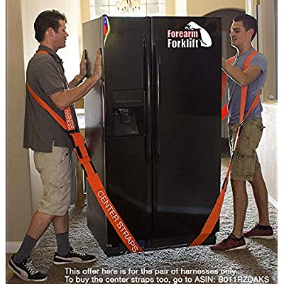 Forearm Forklift FFH2 Harness 2 Two-Person Shoulder Lifting and Moving System for Furniture, Appliances, Mattresses or Objects up to 800 Pounds) Requires Lifting & Moving Straps (Sold Separately),: Home Improvement