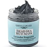 Dead Sea Mineral Mud Mask Scented with Lavender for Face and Body