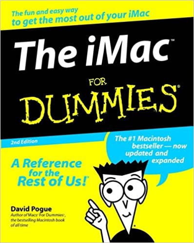 The iMac For Dummies (For Dummies (Computers))