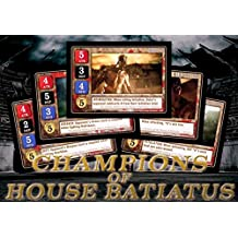 Spartacus Champions of the House of Batiatus 5-Card Set GF9 SPARSET01 LIMITED!