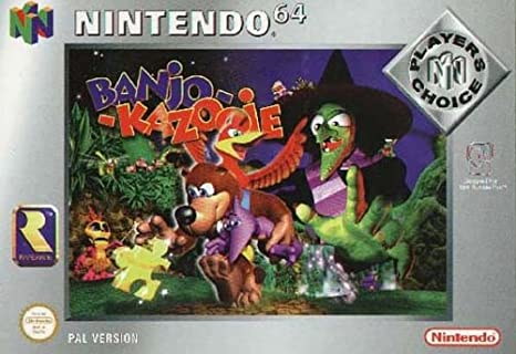 Banjo-Kazooie (N64): Amazon co uk: PC & Video Games