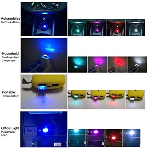 Martinimble Flexible Mini USB LED Light Colorful Lamp Atmospheres Bright Light Car Styling by Martinimble (Image #7)