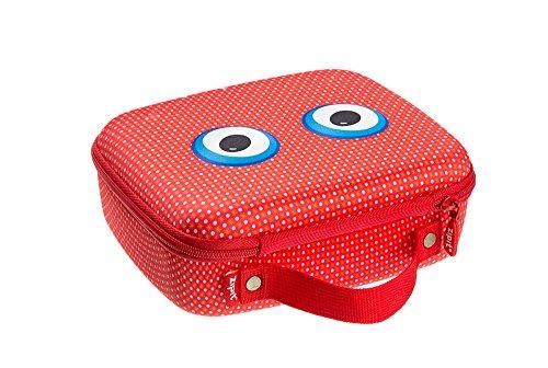 ZIPIT Beast Box Jumbo Storage Case, Red Photo #3