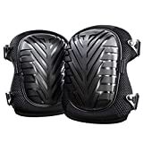 Knee Pads (1 Pair) HoneyBull Protective Knee Pads for Work with Foam Padding (Waterproof & Flame Retardant) Lightweight - Gardening, Home Improvement, Construction, Concrete, and More!
