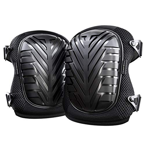 Knee Pads (1 Pair) HoneyBull Protective Knee Pads for Work with Foam Padding (Waterproof & Flame Retardant) Lightweight - Gardening, Home Improvement, Construction, Concrete, and More! by HONEYBULL (Image #8)