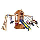 Best backyard discovery cedar swing set - Backyard Discovery Parkway All Cedar Wood Playset Swing Review