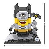 Grandline Minions Featuring Bat Man Micro Blocks 390 PCS