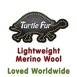 Turtle Fur Balaclava, Lightweight Merino TecnoWool Hood, Black