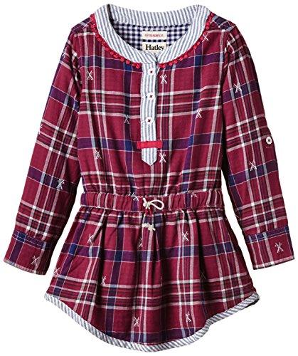 Hatley Girls Shirt Dress Cross
