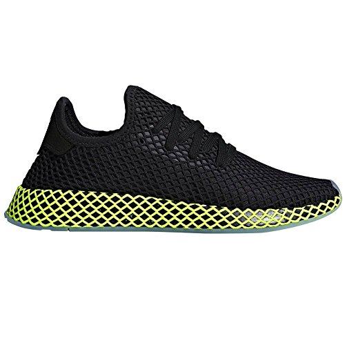 adidas Men Deerupt Runner Gymnastics Shoes Black (Core Black/Core Black/Ash Blue S18)