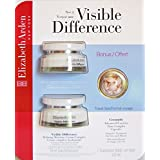 Visible Difference Refining Moisture Cream Complex by Elizabeth Arden - 75ml (Pack of 2) plus 3.2ml bonus travel size 7 Ceramide Time Complex Capsules