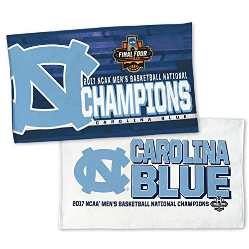 North Carolina Tar Heels 2017 NCAA Men's Basketball National Champions 2-Sided Official On Court Locker Room Towel by WinCraft