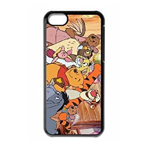iPhone 5C Cell Phone Case Black The Tigger Movie Gsdbye Hard protective Case Shell Cover