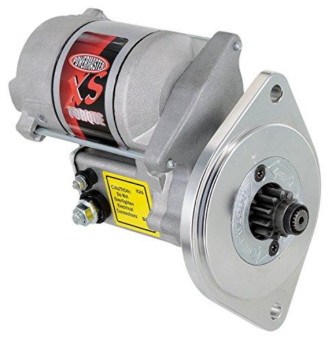 - Powermaster 9503 XS Torque; Starter; Standard; 200 ft./lb. Torque;4.4-1 Gear Reduction; 2 Mounting Holes; 3/4in. Offset;