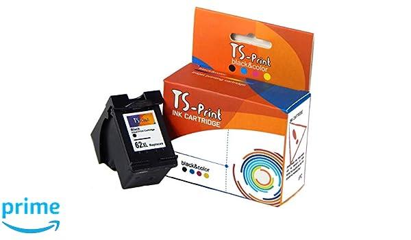 TS-Print 62XL 62 XL HP Remanufacturado Cartucho de Tinta Negro ...