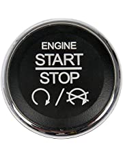 APDTY 117375 Dashboard Mounted Engine Ignition Start Stop Button Switch Fits Select Chrysler 300 Town & Country Dodge Challenger Durango Grand Caravan Commander Grand Cherokee Ram C/V Conversion Van
