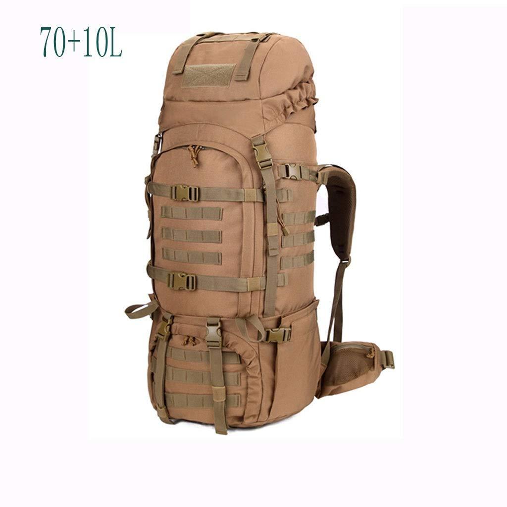 多機能屋外登山バッグ女性特殊部隊戦術的荷物バックパック男性ミリタリーバッグショルダーバッグ大容量 (色 : D)  D B07Q8QHWXB