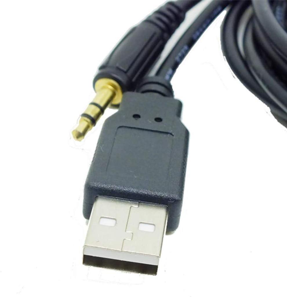 Ipotch Usb Auto Einbau Buchse Klinke 3 5mm Adapter Elektronik