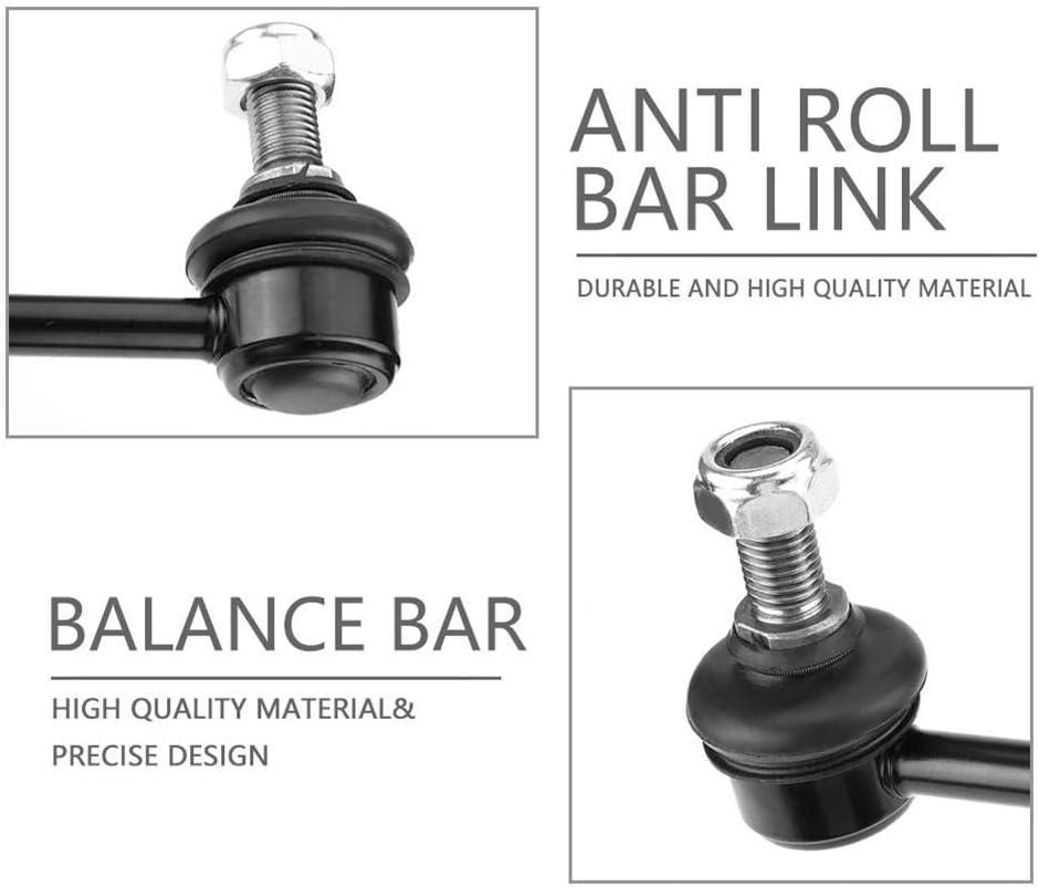 Anti Roll Bar Link Front Balance Bar Iron Balance Bar Black for YS3E 90496116 Sway Bar