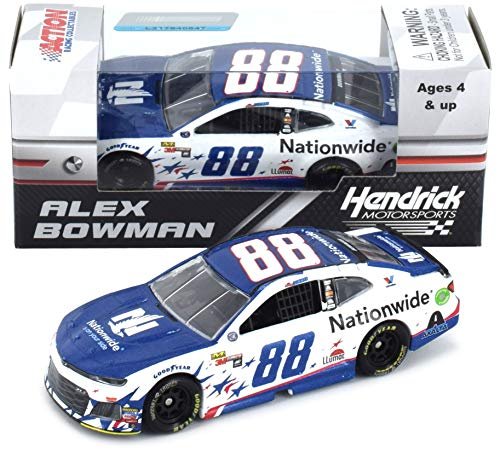 Lionel Racing Alex Bowman 2018 Patriotic Nationwide NASCAR Diecast 1:64 Scale