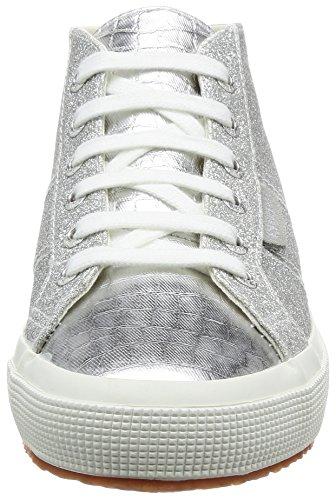 2754 Grey Woman Superga microglittercotmetcoccow Silver wq0658g
