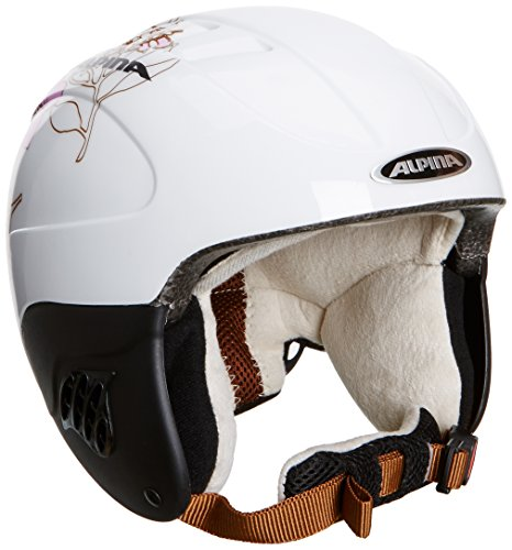ALPINA Kinder Skihelm Carat, White-Rose, 48 - 52, 9035118